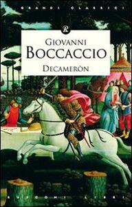Libro Decameròn Giovanni Boccaccio