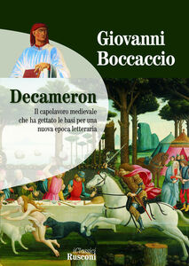 Foto Cover di Decameron, Libro di Giovanni Boccaccio, edito da Rusconi Libri