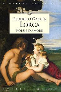 Libro Poesie d'amore Federico García Lorca