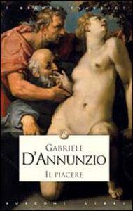 Foto Cover di Il piacere, Libro di Gabriele D'Annunzio, edito da Rusconi Libri