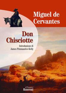 Don Chisciotte - Miguel de Cervantes - copertina