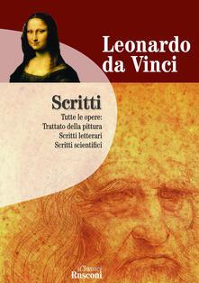 Scritti - Leonardo da Vinci - copertina