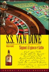 Foto Cover di Signori il gioco è fatto, Libro di S. S. Van Dine, edito da Rusconi Libri
