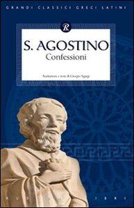 Libro Confessioni Agostino (sant')