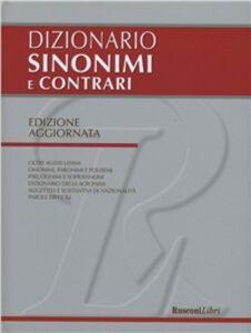 Libro Dizionario sinonimi e contrari