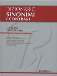 Rallydeicolliscaligeri.it Dizionario dei sinonimi e contrari Image