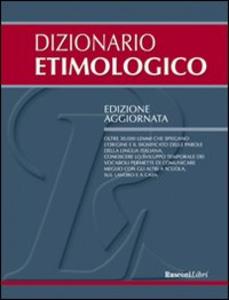 Libro Dizionario etimologico