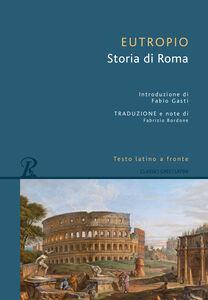 Libro Storia di Roma Eutropio