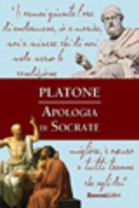 Foto Cover di Apologia di Socrate, Libro di Platone, edito da Rusconi Libri