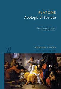 Libro L' apologia di Socrate. Testo greco a fronte Platone