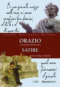 Foto Cover di Satire, Libro di Orazio, edito da Rusconi Libri