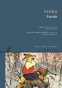 Foto Cover di Favole, Libro di Fedro, edito da Rusconi Libri