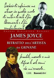 Libro Ritratto dell'artista da giovane James Joyce