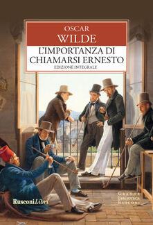 Winniearcher.com L' importanza di chiamarsi Ernesto. Ediz. integrale Image