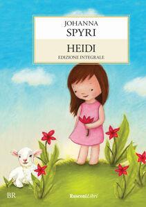 Foto Cover di Heidi. Ediz. con schede di comprensione, Libro di Johanna Spyri, edito da Rusconi Libri