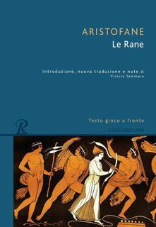 Nicocaradonna.it Le rane. Testo greco a fronte Image
