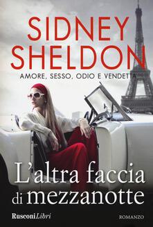 L' altra faccia di mezzanotte - Sidney Sheldon - copertina