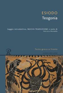 Librisulrazzismo.it Teogonia. Testo greco a fronte Image