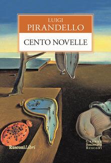 Cento novelle - Luigi Pirandello - copertina