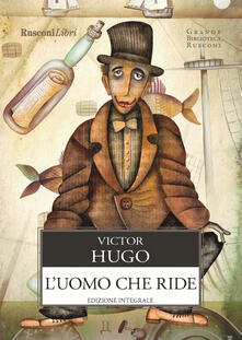 L' uomo che ride - Victor Hugo - copertina