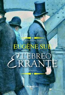 L' ebreo errante - Eugène Sue - copertina