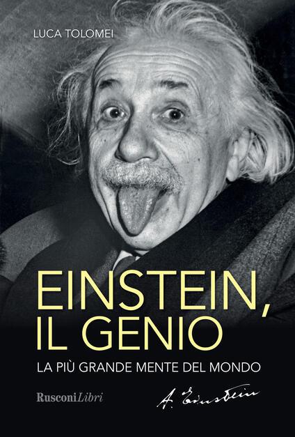 Einstein. Il genio - Luca Tolomei - copertina
