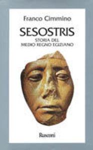 Foto Cover di Sesostris. Storia dell'Egitto del medio regno, Libro di Franco Cimmino, edito da Rusconi Libri