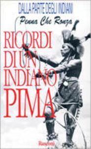 Libro Ricordi di un indiano pima George Webb