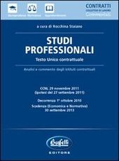 Studi professionali. Testo unico contrattuale
