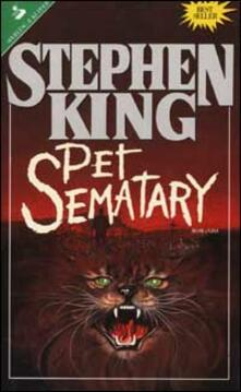 Pet Sematary - Stephen King - copertina