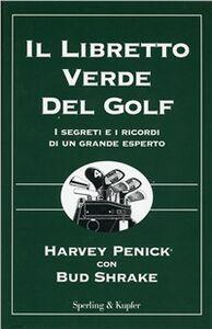 Libro Il libretto verde del golf Harvey Penick , Bud Shrake