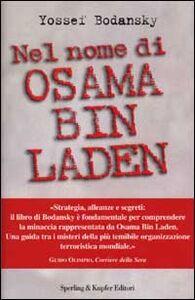 Libro Nel nome di Osama bin Laden Yossef Bodansky