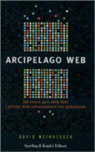 Libro Arcipelago web David Weinberger