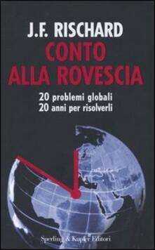 Collegiomercanzia.it Conto alla rovescia. 20 problemi globali, 20 anni per risolverli Image