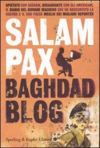 Libro Baghdad Blog Salam Pax