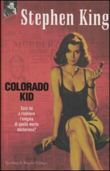 Colorado Kid - Stephen King - copertina