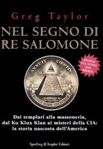 Libro Nel segno di re Salomone Greg Taylor