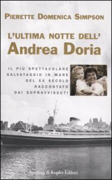 Mercatinidinataletorino.it L' ultima notte dell'Andrea Doria Image