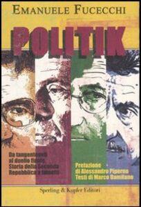 Libro Politik Emanuele Fucecchi , Marco Damilano