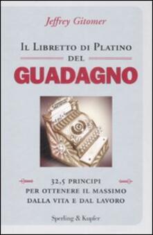 Grandtoureventi.it Il libretto di platino del guadagno Image