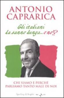 Rallydeicolliscaligeri.it Gli italiani la sanno lunga... o no!? Image