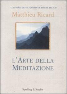 L' arte della meditazione