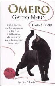 Libro Omero gatto nero Gwen Cooper