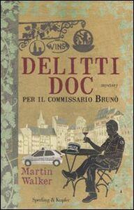 Libro Delitti DOC per il commissario Brunò Martin Walker