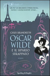 Libro Oscar Wilde e il sipario strappato Gyles Brandreth