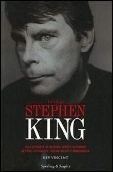 Fondazionesergioperlamusica.it Tutto su Stephen King. Alla scoperta di un genio: scritti autografi, lettere, fotografie, disegni inediti e memorabilia. Ediz. illustrata Image