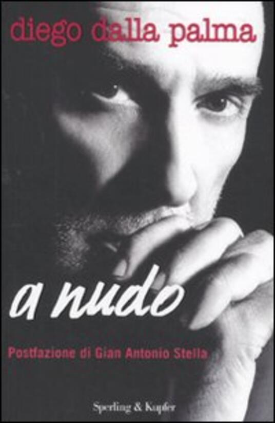A nudo - Diego Dalla Palma - copertina