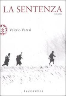 La sentenza - Valerio Varesi - copertina