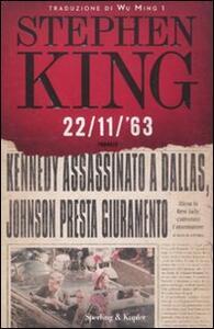 22/11/'63 - Stephen King - copertina
