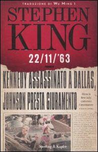 Foto Cover di 22/11/'63, Libro di Stephen King, edito da Sperling & Kupfer